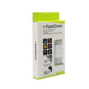 i-FlashDrive Dual Card Reader between iDevices and Mac/PC