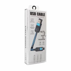 Data kabal UCA Stripe Micro USB plavi 1m