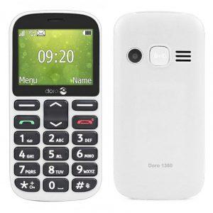DORO 1360 2.4″ 16MB/4MB veliki monoblok beli