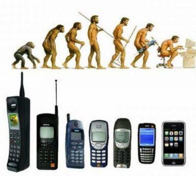 Evolucija mobilnih telefona
